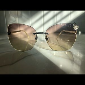 New Gucci Butterfly detail Sunglasses